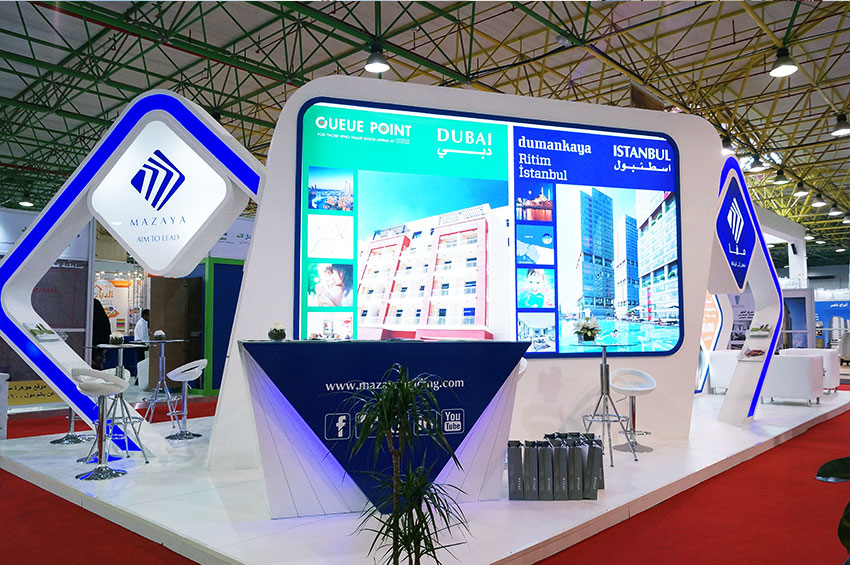 exhibition stand production kuwait