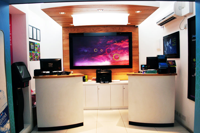 mobile shops interior designing production company kuwait
