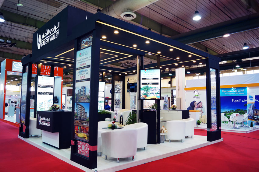 Exhibition Stand Kuwait : Conceptcoms kuwait portfolio interior design exhibition stand and
