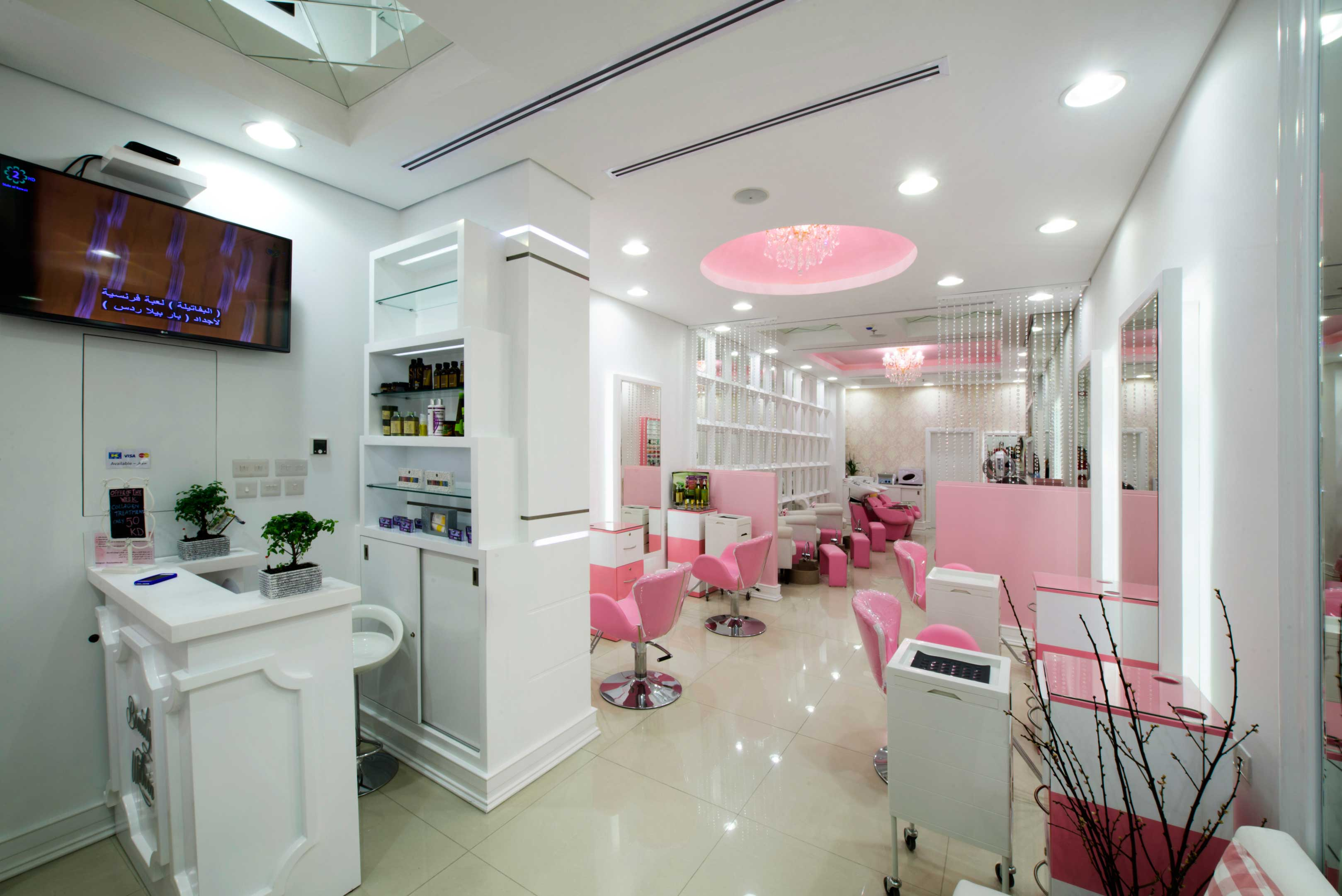 Ladies Saloon interior production kuwait