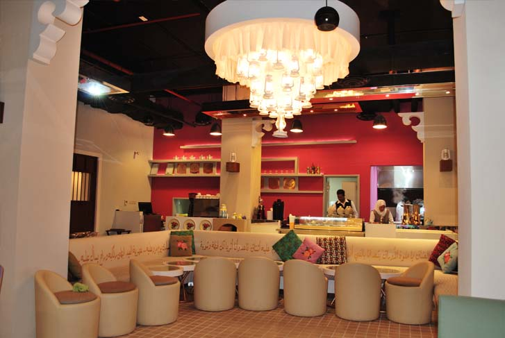 restaurant interior design and production company kuwait