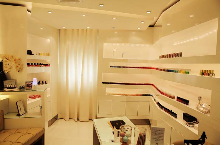 spa and beauty care interior kuwait