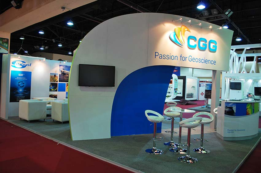 exhibition stand production fit-out company kuwait
