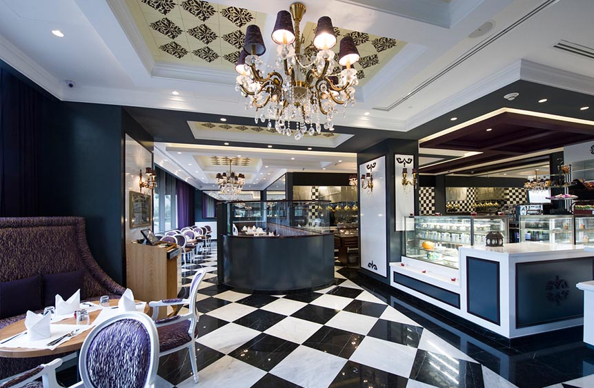 restaurant interior design kuwait