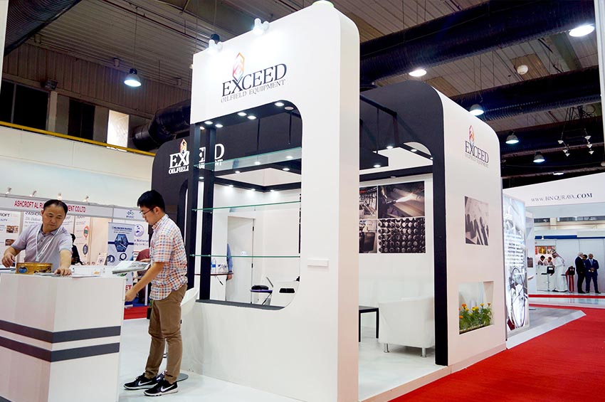 exhibition stand production